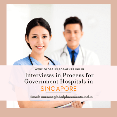 Hiring Nurses for Singapore