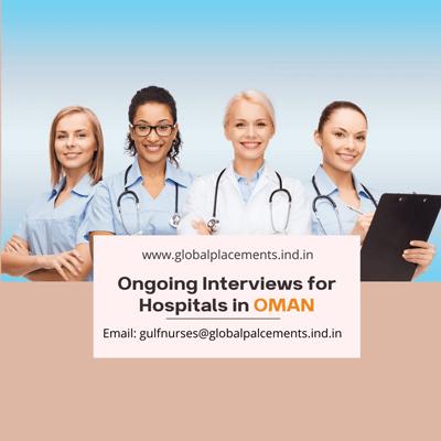 Nurses Interviews for OMAN